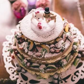 Foto Casamento de Crochê