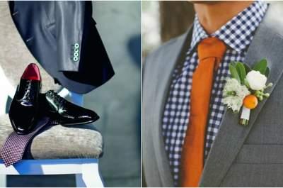 Cómo elegir los accesorios del look de novio: 4 aspectos fundamentales para no equivocarse