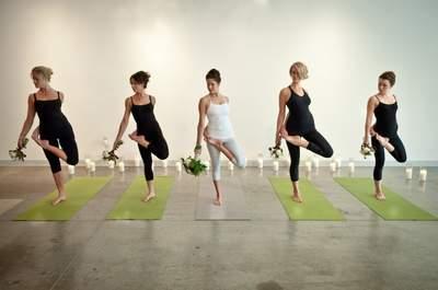 Trendige Fitnessübungen für Braut und Hochzeitsgäste