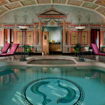 La piscina della Presidential Room