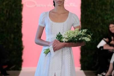 Oscar de la Renta 2015: la sposa più glamour dalla New York Bridal Week
