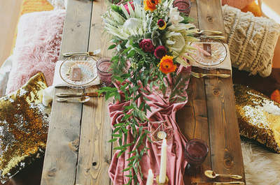 20 idee per decorare il tuo matrimonio in stile boho-chic