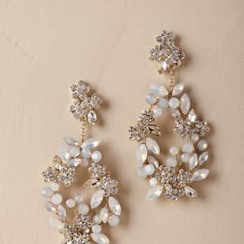 Kora Chandelier Earrings. Credits: Bhldn