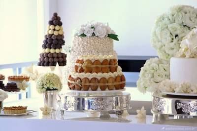 Mesa de bolos: inovação e sabor no seu casamento!