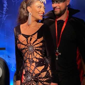 Juliana Paes e o marido Carlos Eduardo Baptista. Foto IG @julianapaes