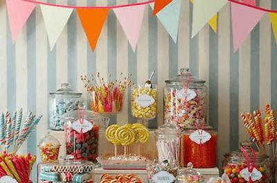 Die etwas andere Hochzeitsdekoration – eine verführerische Candy Bar