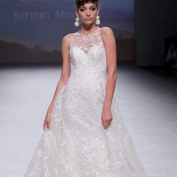 Maggie Sottero. Credits: Barcelona Bridal Fashion Week.