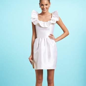 baabf42a2e Krótkie sukienki ślubne z kolekcji Kirribilla. Zobacz 14 zdjęć