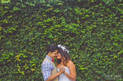 Julliana & Johnny: casamento rústico mega personalizado no Rio de Janeiro