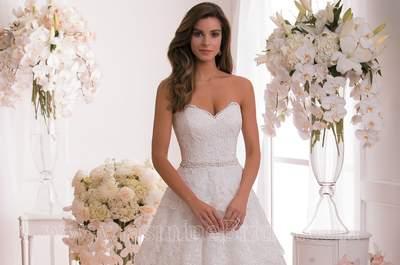 Das sind die neuen Brautkleider 2015 von Jasmine Bridal: romantisch und einzigartig!