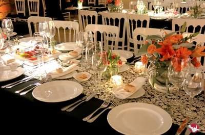 Cómo elegir los manteles de tu matrimonio. ¡Conoce estas ideas y viste tus mesas con lo más original!