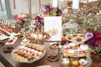 Las mejores opciones para presentar el menú de tu boda