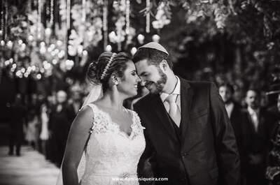 Casamento clássico de Juliana & Gustavo: noivos elegantes e os MAIS animados da pista de dança