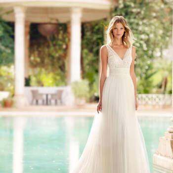 Créditos: Rosa Clará 2020 | Modelo do vestido: Rayel