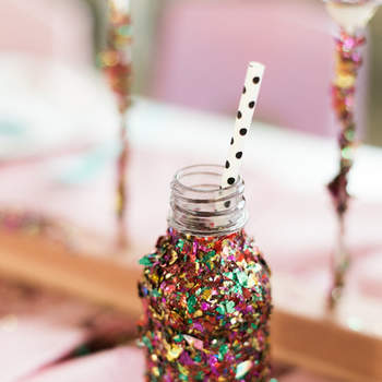 Botella Glitter. Credits: Sara Hasstedt
