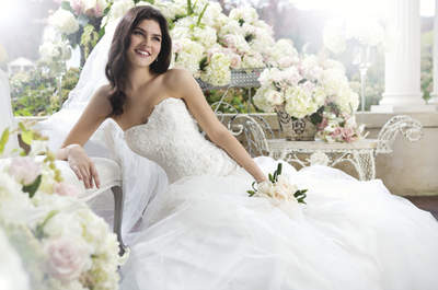 Sincerity Spring 2013 Bridal Collection: Traditional Romantic Style Reinvented
