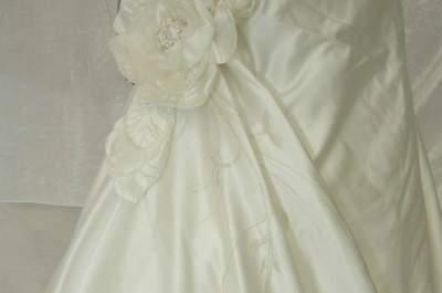 Rose Poudré : des robes de mariée originales, sur mesure, customisées et peintes à la main