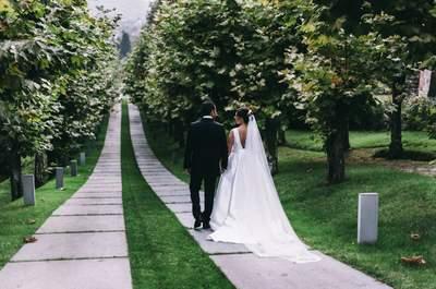 Una boda con sabor asturiano: el gran día de Cristina y Fabián