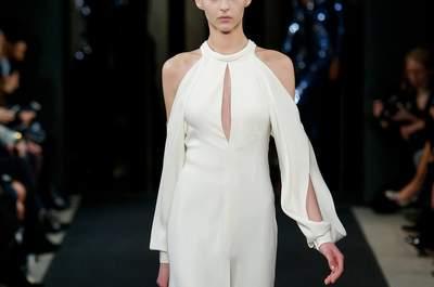 Os 27 vestidos de noiva mais originais das semanas de moda internacionais de 2015