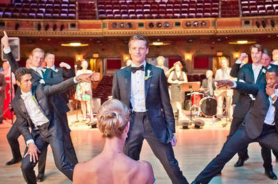 Las 5 mejores coreografías de boda del 2015