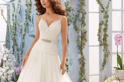 Cómo escoger el vestido de novia según el tipo de cuerpo. ¡Logra tu mejor silueta!