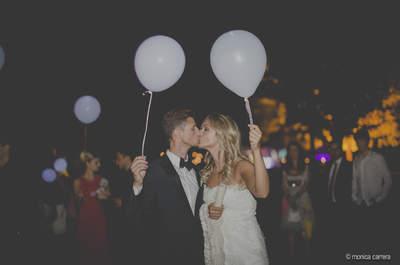 Un boda rústica muy elegante: la de Denise y Albert