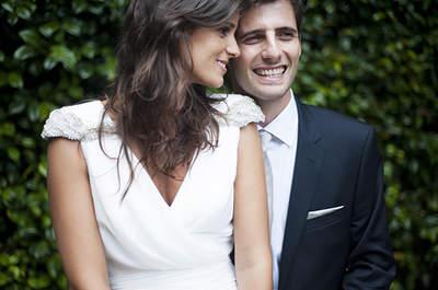 Cristina e João: Eles trouxeram a alegria tropical do Rio Janeiro até Portugal para celebrar o seu casamento!