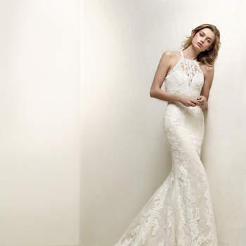 Vestidos de novia para mujeres con poco busto. ¡Luce espléndida!