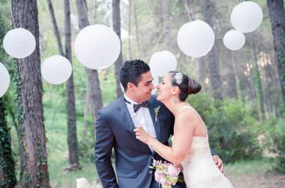Una boda ideal en un bosque de ensueño: el gran día de Samara y Miki