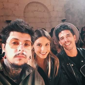 Agir, Cifrão e Catarina Gama   Foto via Instagram @catarinagama