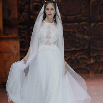 Inmaculada Garcia. Credits: Barcelona Bridal Fashion Week
