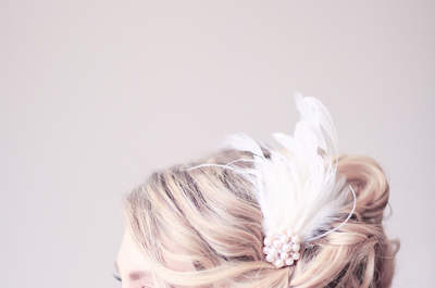 Gorgeous bridal hair accessories you'll want to say