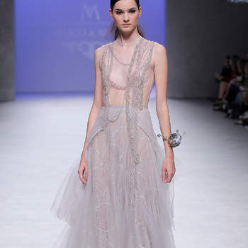 Marco & Maria. Credits: Barcelona Bridal Fashion Week
