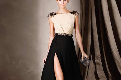 Vestidos de fiesta negros largos 2017. ¡Elegancia máxima en más de 30 diseños!