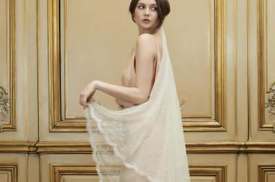 La collection 2015 de Delphine Manivet : une mariée romantique, sexy et vintage