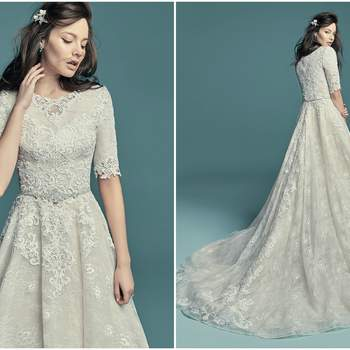 """<a href=""""https://www.maggiesottero.com/maggie-sottero/annabella-marie/11454"""" target=""""_blank"""">Maggie Sottero</a>"""