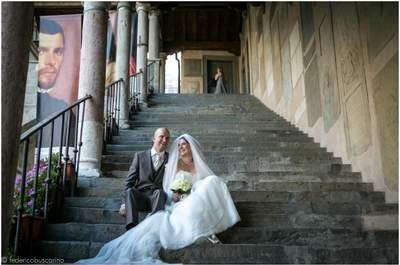 Ralf e Anna Maria, sposi tedeschi a Bergamo. Credits e courtesy Federico Buscarino