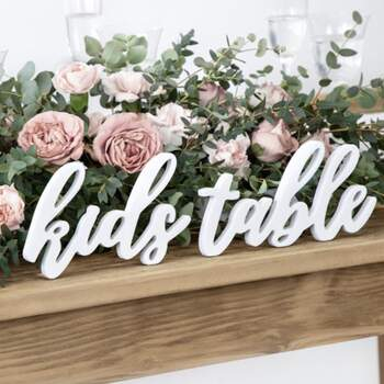 Lettres Kids Table - The Wedding Shop !