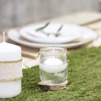 Bougies Flottantes Blanches 50 Pinces - The Wedding Shop !