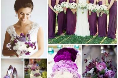 "Cor Pantone 2014 - Como combinar perfeitamente ""Orquídea Radiante"" no vosso casamento"