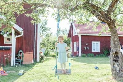 Interkulturelle Märchenhochzeit in Schweden: frisch, freudig, einfach schwedisch-kanadisch!