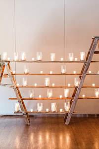 Dekoracje ślubne ze świecami