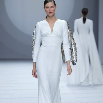 Isabel Sanchis - Credits: Barcelona Bridal Fashion Week