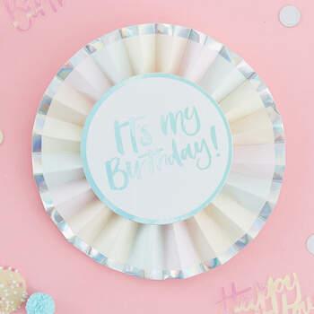 Roseta de cumpleaños- Compra en The Wedding Shop