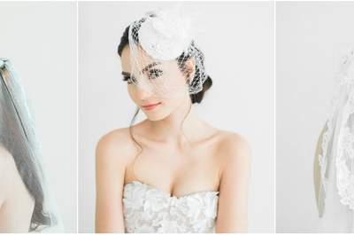 Il velo da sposa, ecco 5 modi per indossarlo!