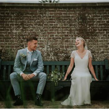 De landelijke bruiloft van Mirte en Robin | Foto: Nickie Fotografie