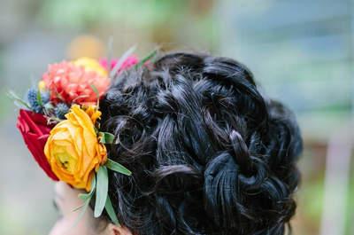 Coiffure de mariage cheveux mi-longs : la longueur idéale pour satisfaire toutes vos envies !