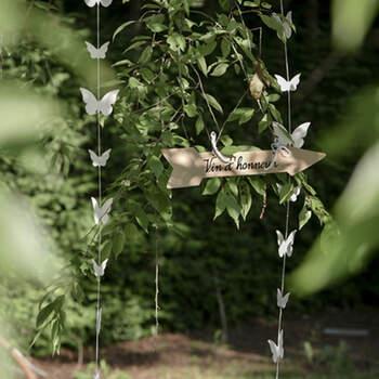 Decoración Hilo y Mariposas- Compra en The Wedding Shop