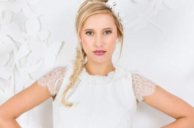 Entdecken Sie die neuen Brautkleider von La Robe Marie 2017! Mädchenhafter Charme modern interpretiert