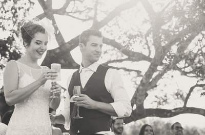 Casamento vintage de Flavia e Daniel: inspiração Toscana encantadora na Serra de Minas Gerais